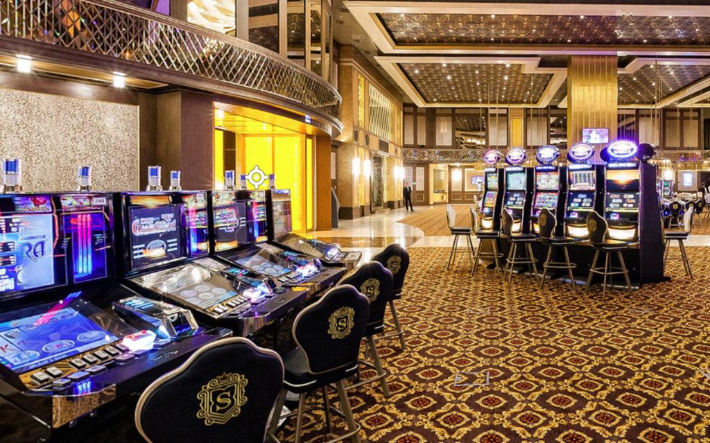 Янтарная казино комната